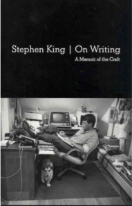 """Stephen King, """"On Writing: A Memoir on the Craft"""" Book Cover"""